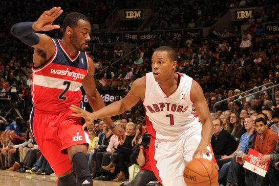 A matchup of two of the best point guards in the Eastern Conference, John Wall and Kyle Lowry.