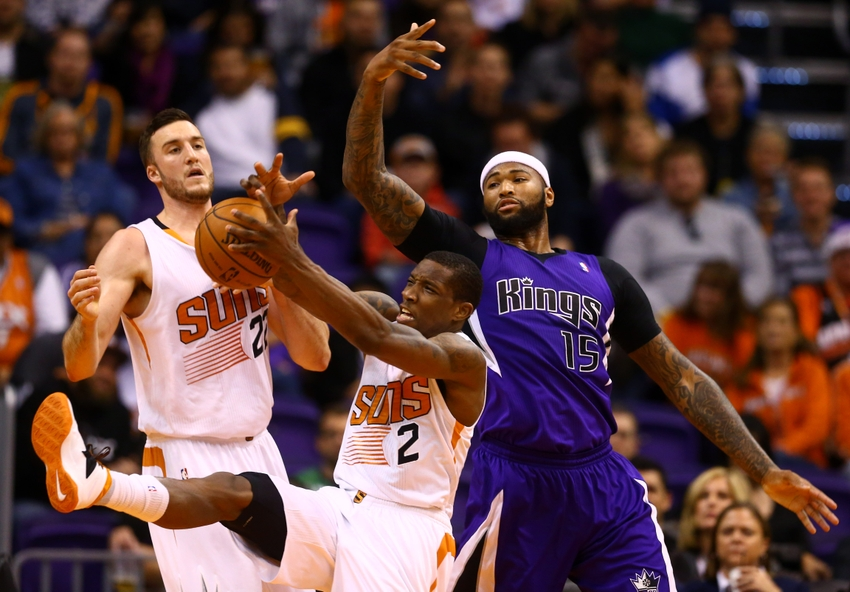 DeMarcus Cousins leads the 4-1 Kings into Phoenix to take on Eric Bledsoe and the Suns.