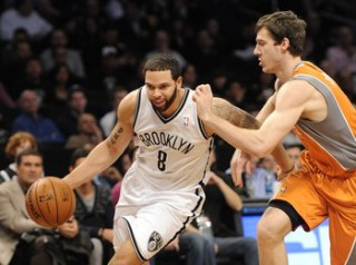 It should be a good point guard matchup between Deron Williams and Goran Dragic.