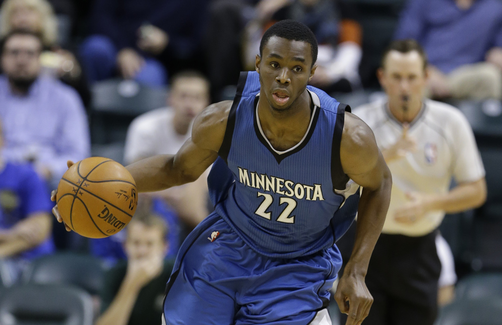 Andrew Wiggins will appear in his first Nationally televised NBA game.