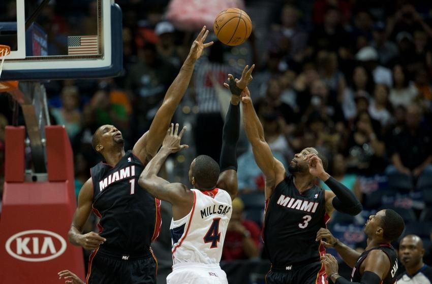 The Miami Heat look to bounce back against the Atlanta Hawks.