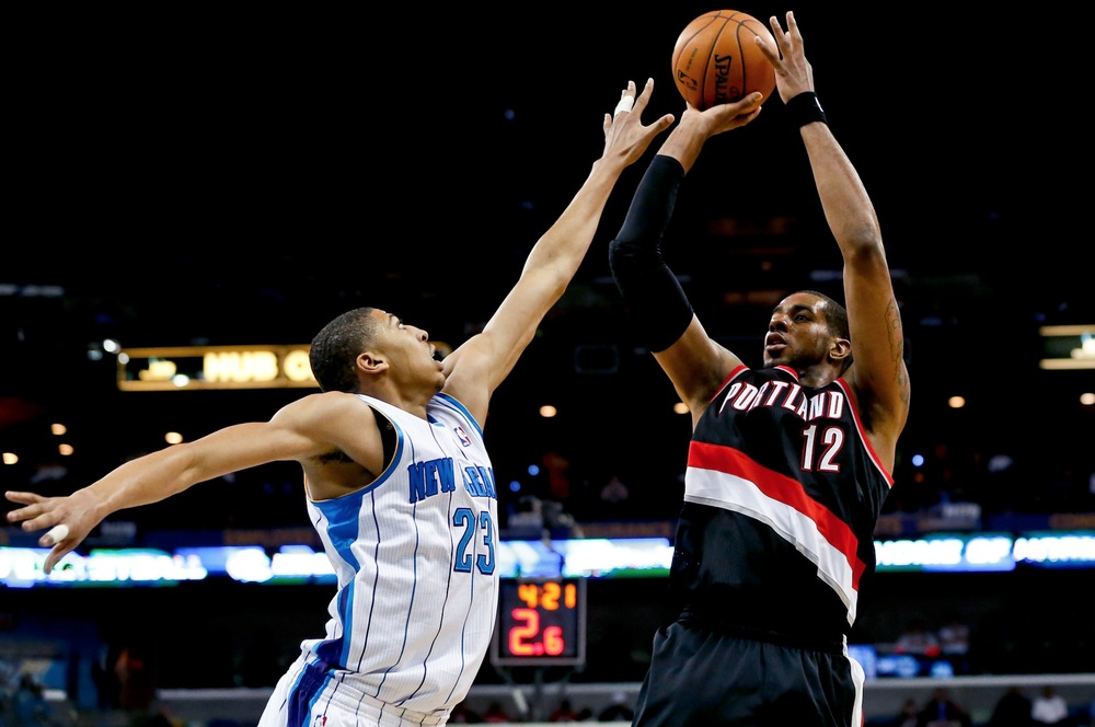 Two of the best power forwards in the game; Anthony Davis and LaMarcus Aldridge