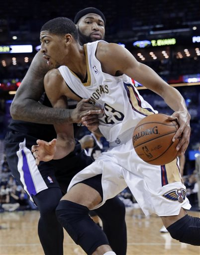 Anthony Davis tries to lead the Pelicans to a win over a solid Sacramento Kings team led by DeMarcus Cousins.