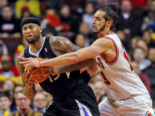 DeMarcus Cousins and the Kings will have their hands full with Joakim Noah and the Bulls.