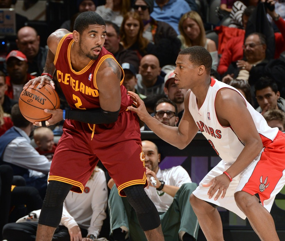 Kyrie Irving and the Cavs look to stop a three game losing streak against Kyle Lowry and the Toronto Raptors.