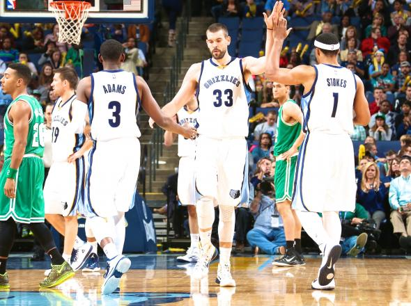 Marc Gasol has led the Grizzlies to a league best 12-2 record.
