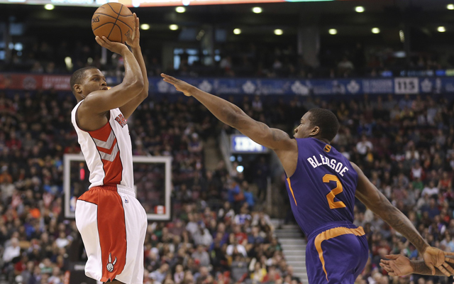 Kyle Lowry and Eric Bledsoe are just two of the dynamic guards that we will see in this game.