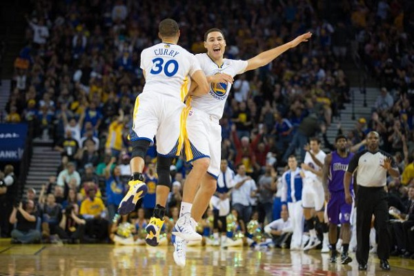 The Splash Bros look to continue their hot shooting against the Heat.