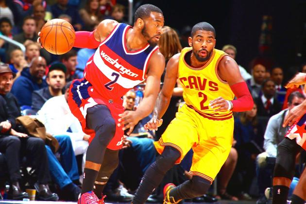 John Wall got the best of Kyrie Irving last game.