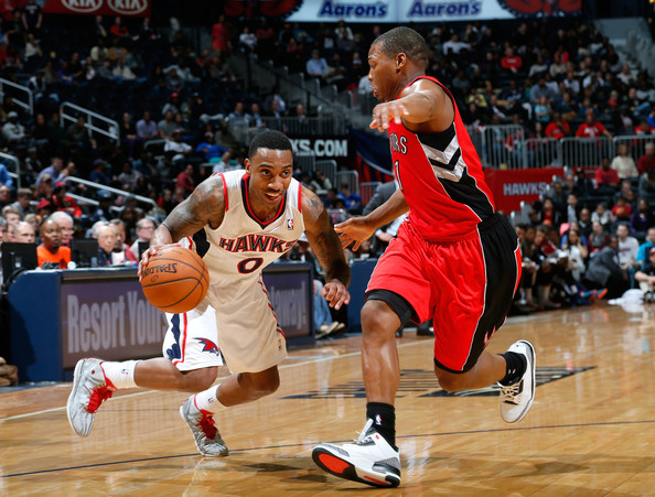 Jeff Teague leads the Hawks against Kyle Lowry and the Raptors