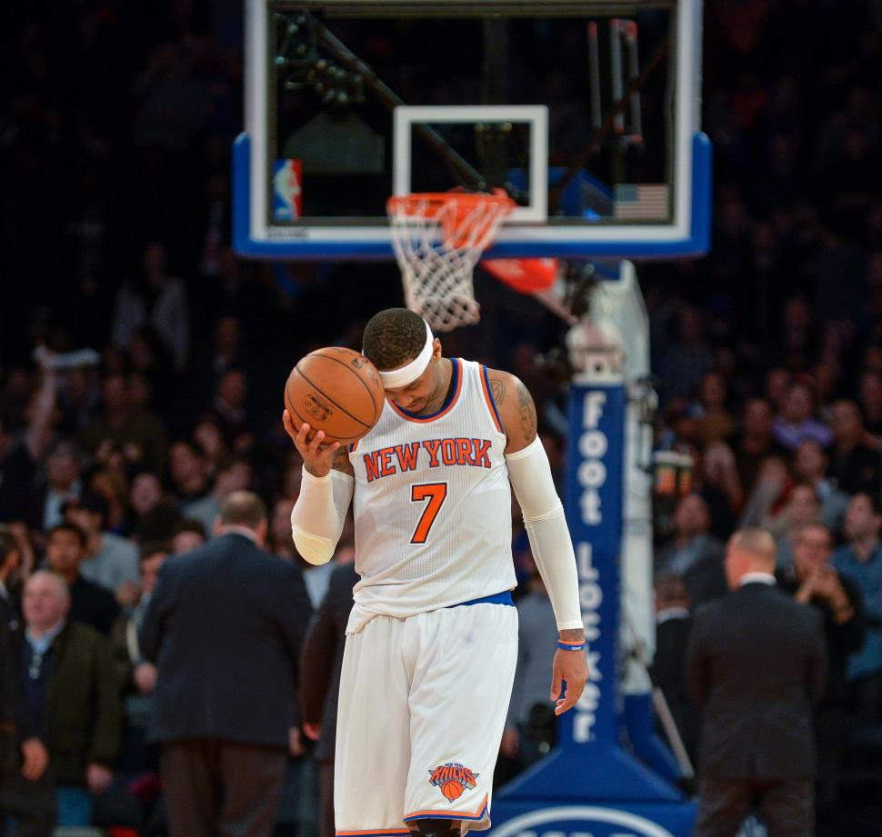 The New York Knicks have dropped eight games in a row.