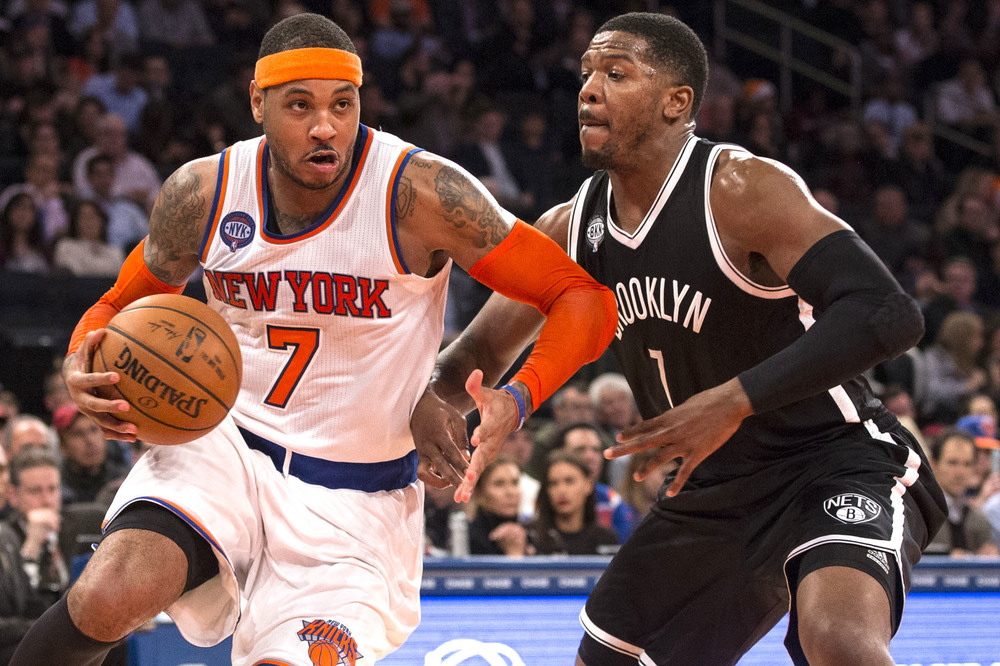 The Knicks and Nets are a combined 12-32 on the season. Fans in New York City won't have much to cheer about until the All-Star game comes to town in February.