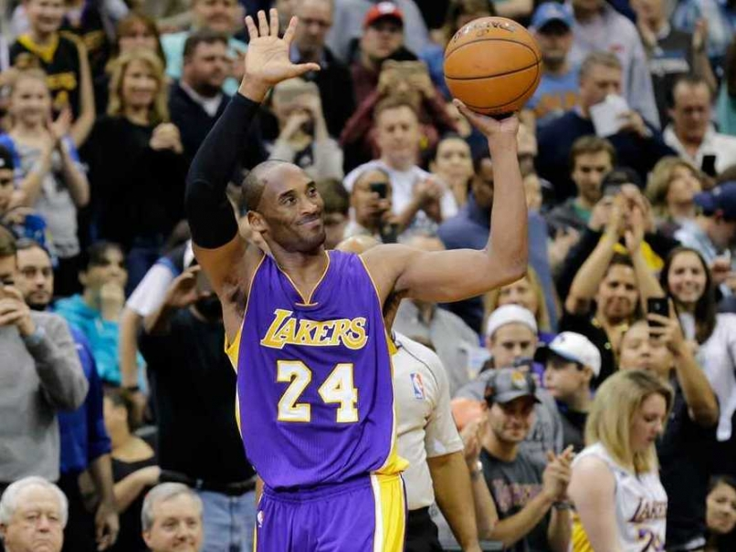 With two free throws Kobe Bryant passed Michael Jordan for third on the All-Time scoring list.