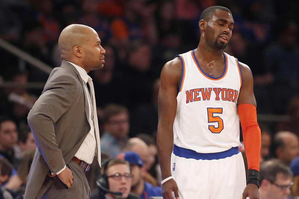 The New York Knicks have lost 11 games in a row. They lead the NBA with 31 losses.