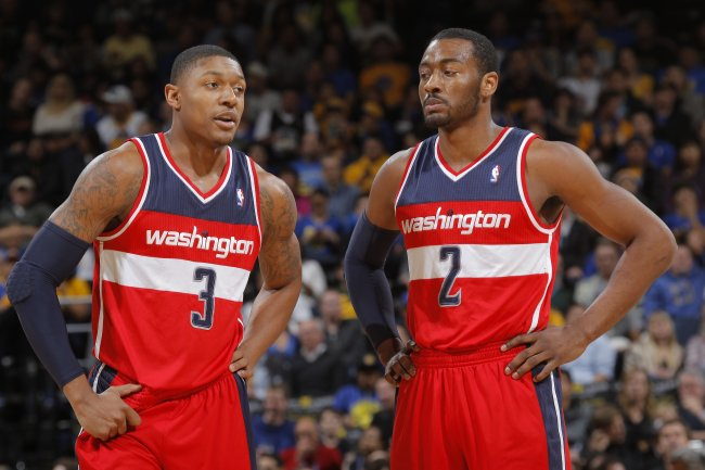 Bradley Beal and John Wall combined for 38 points in a win against the Bulls.