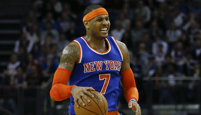 Carmelo Anthony returned for the Knicks but they still lost. They have dropped 16 in a row.