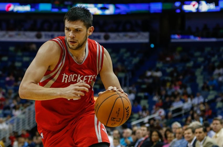 Rockets international rookie Kostas Papanikolaou