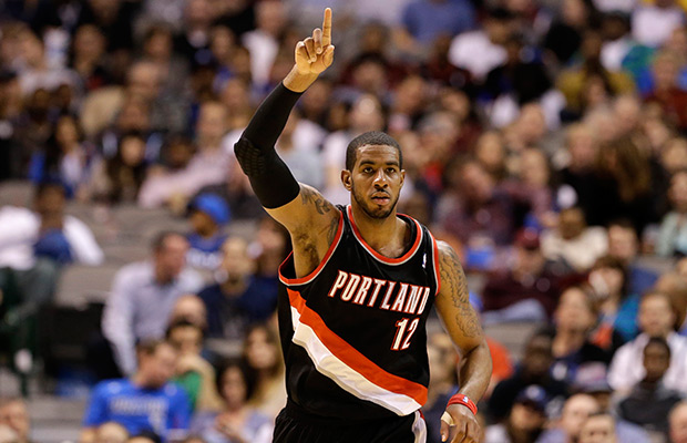 LaMarcus Aldridge is averaging 23 and 10 but will be out six to eight weeks.