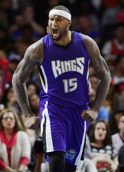1 of 3 players averaging 20 points and 10 rebounds. DeMarcus Cousins is not an NBA All-Star averaging 23.8 ppg and 12.3 rpg.