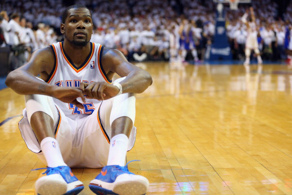 Kevin Durant has been banged up all season so a few extra days off will be good for him.