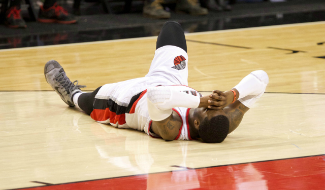 Wesley Matthews is out for the season with a torn left Achilles tendon.