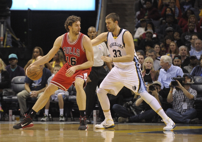 The Gasol brothers meet again.