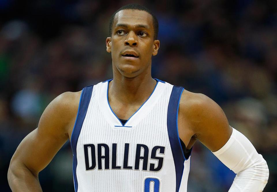 Rajon Rondo's time in Dallas might be over.