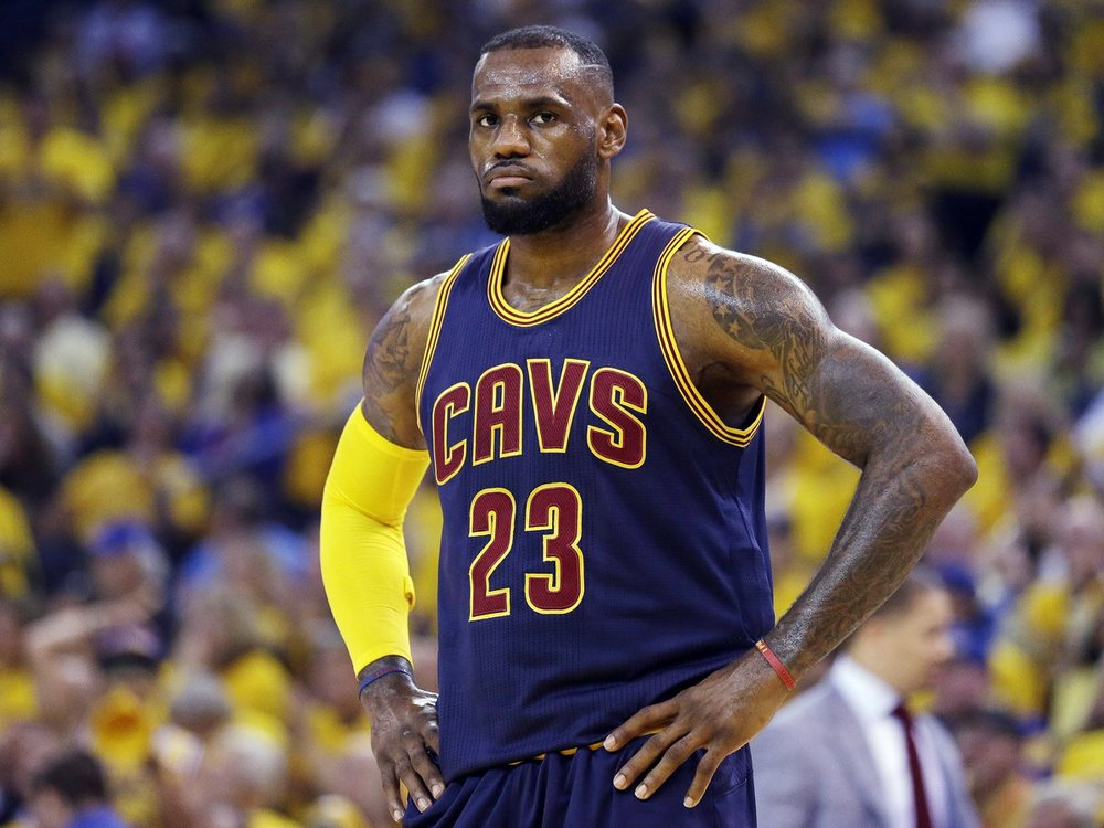 LeBron scored 44 points but only dished out 6 assists for 15 points.