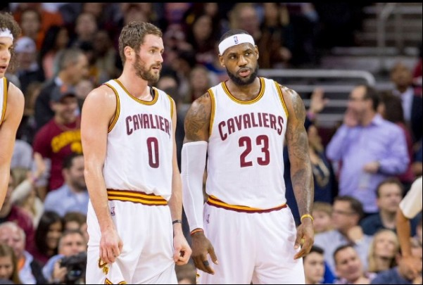 Kevin Love and LeBron James will have to improve their chemistry with Kyrie Irving out.