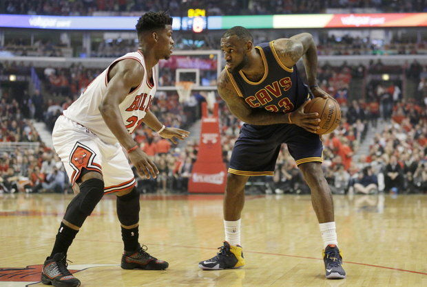 Jimmy Butler and the Bulls take on LeBron James and the Cavaliers on opening night (Nam Y. Huh, Associated Press)