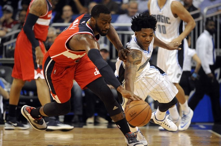 John Wall and the Wizards take on Elfrid Payton and the Magic.