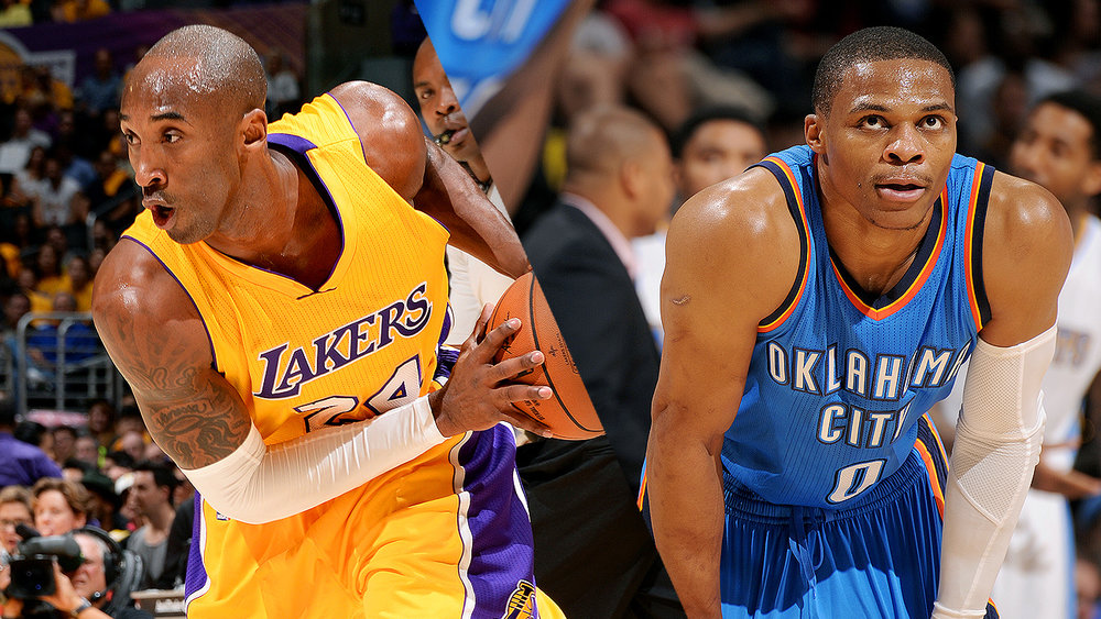 Russell Westbrook will channel his inner Kobe for this season.