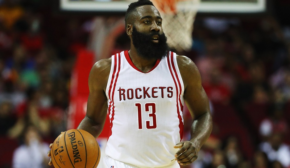 James Harden averaging a career high 11.9 assists per game.