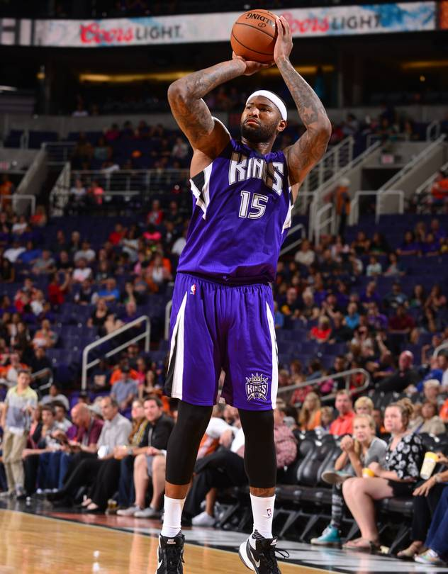 DeMarcus Cousins is shooting 38% from beyond the arc this season.