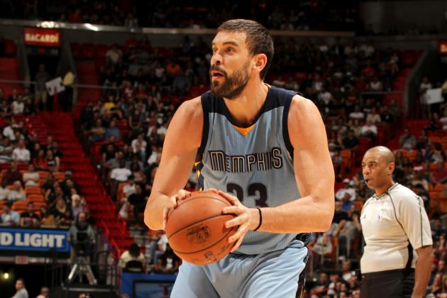 Marc Gasol has already hit a career best 30 3-pointers this season.