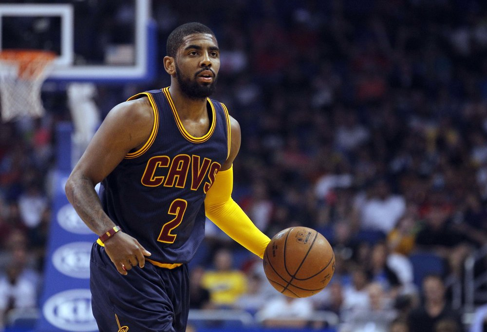 Kyrie Irving has become a more willing passer this season.