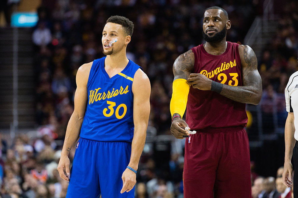 Steph Curry and LeBron James will meet for the 3rd straight year in the NBA Finals.