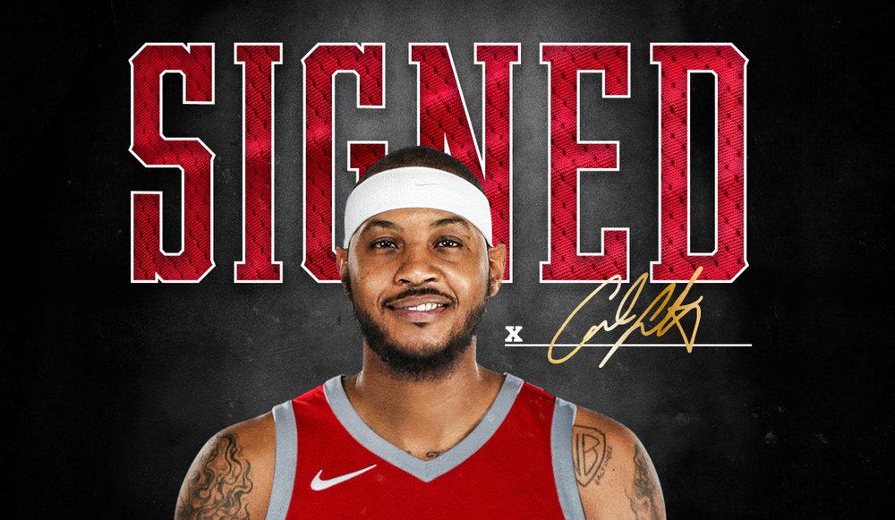 Can Carmelo Anthony have a bounce back season with the Rockets?