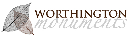 Logo design for Worthington Monuments
