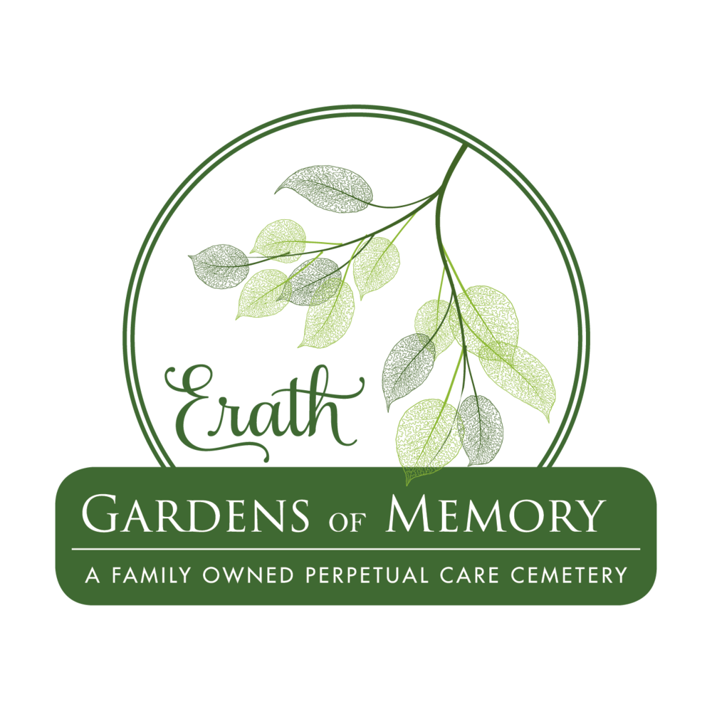 Logo design for Erath Gardens of Memory Cemetery