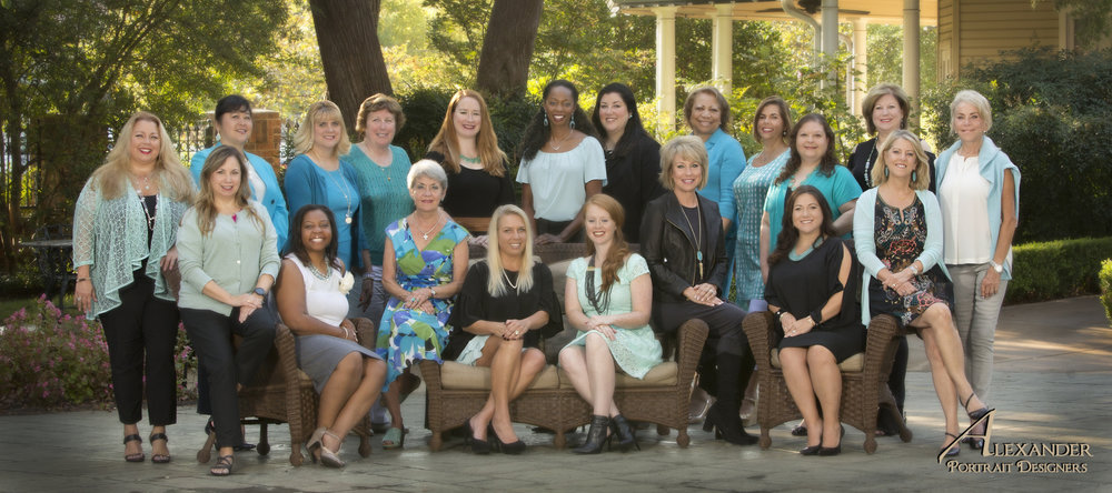 The 2017 Inspired Women Luncheon Committee |  Alexander Portrait Designers