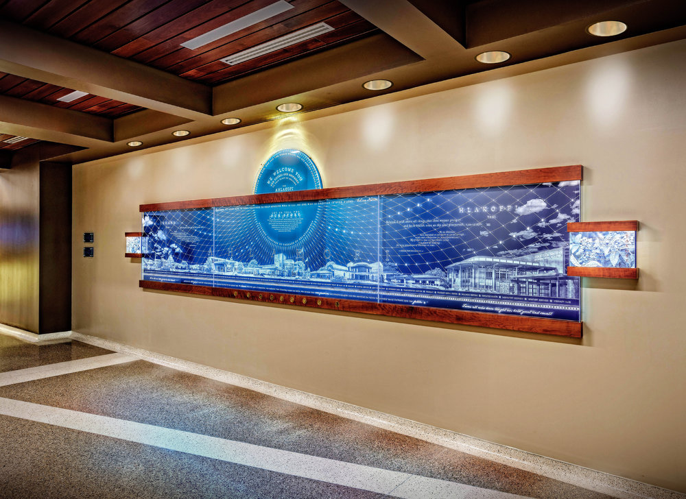 Choctaw Nation Regional Medical Clinic History Wall Amri Studio