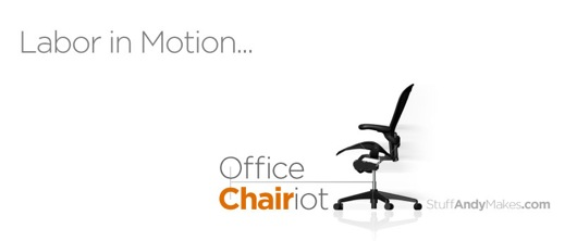 Office Chairiot™ - labor in motion