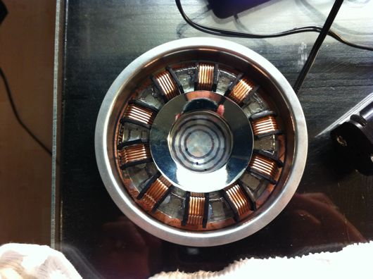 Completed RT Mark II arc reactor
