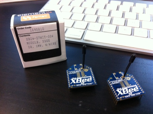 XBee S2 ZigBee RF modules by Digi International