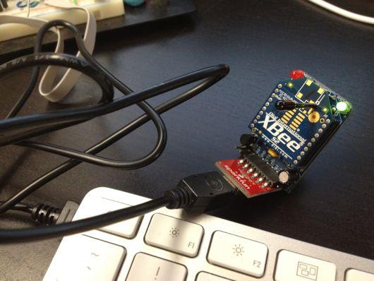 Adafruit XBee Adapter + Sparkfun FTDI Basic + USB cable