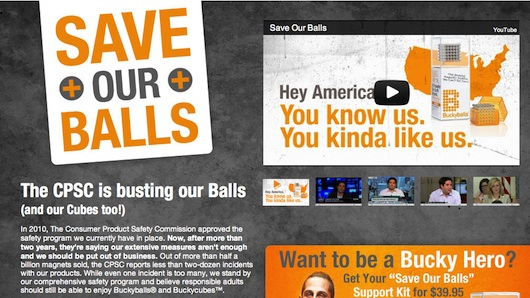 Save Bucky Balls!