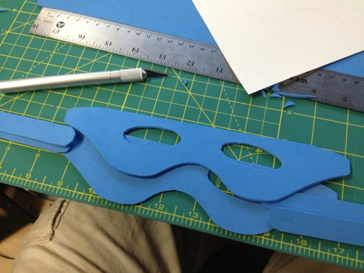 DIY Superhero Masks Cut Out