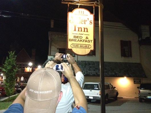 Jailers Inn Photo Opp