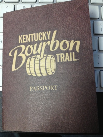 Kentucky Bourbon Trail Passport Stamp - Cover